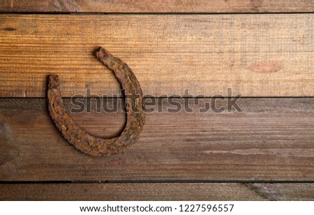 old horse shoes #1227596557
