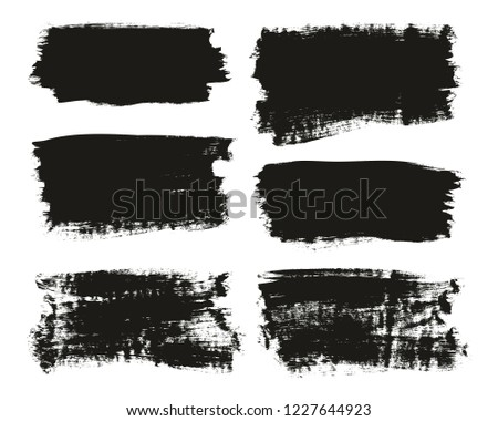 Calligraphy Paint Brush Background High Detail Abstract Vector Background Set 101 #1227644923