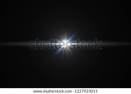 Digital lens Flare , light leaks , Abstract overlays background. #1227923011