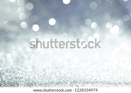 Texture background abstract black and white or silver Glitter and elegant for Christmas #1228334974