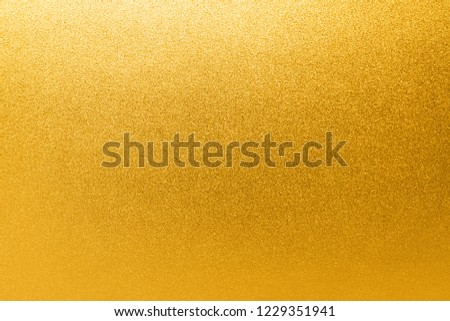 Gold yellow background texture. #1229351941
