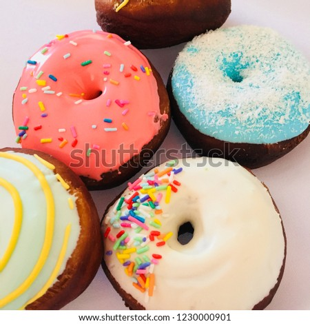 Delicious sweet donuts #1230000901