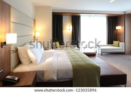 Hotel room Royalty-Free Stock Photo #123035896