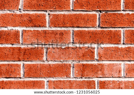 Red brick wall background  #1231056025