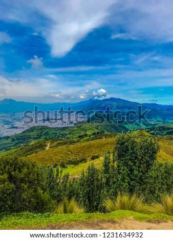 countryside of ecuador #1231634932
