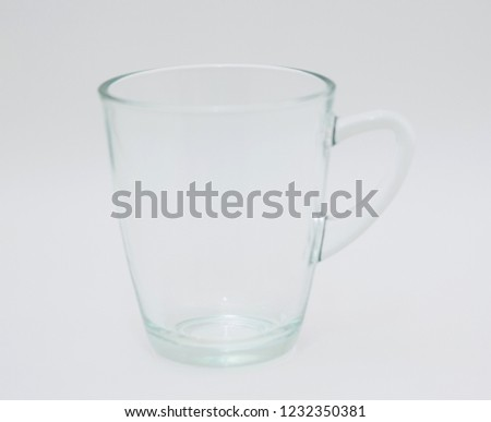 glass White background #1232350381