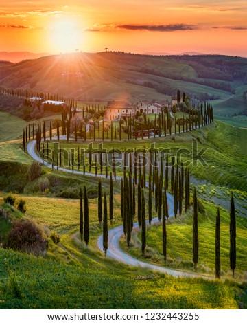 Spring in Tuscany, Italy #1232443255