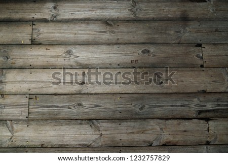 old wood background with pattern and texture photo of wooden floor, wall or partition #1232757829