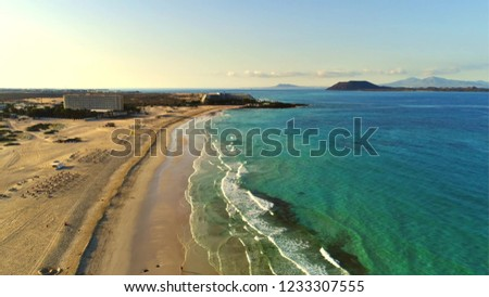 Fuerteventura, the second largest of Spain's Canary Islands its the best places in world #1233307555