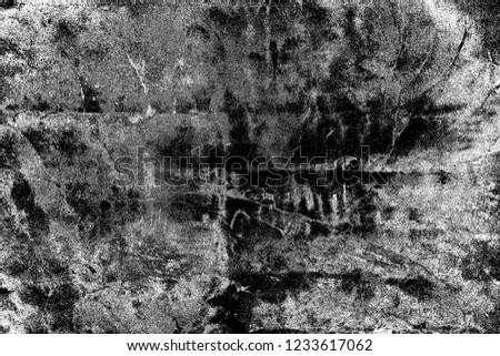 Abstract background. Monochrome texture. Image includes a effect the black and white tones. #1233617062