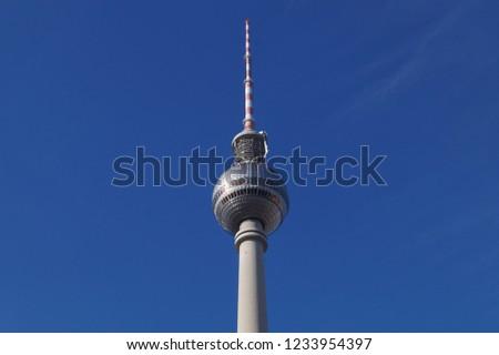 Berlin TV Tower #1233954397