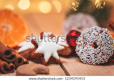 Cookies in Christmas time #1234195453