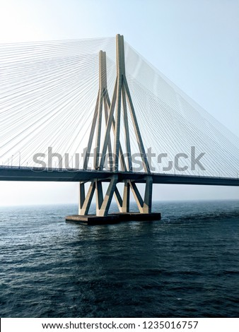 Mumbai Worli Sea Link is one of the most iconic attractions. Lifeline of Mumbai that connects the suburbs with south Mumbai. A must visit for tourists and travelers. #1235016757