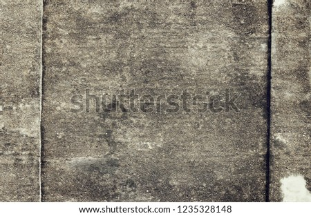 Plain Grunge Concrete Wall Background #1235328148