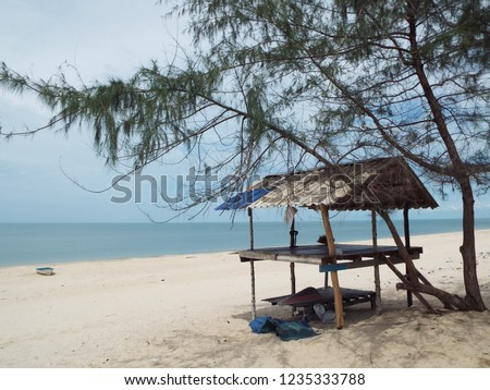 Accommodation of Thai fishermen. #1235333788