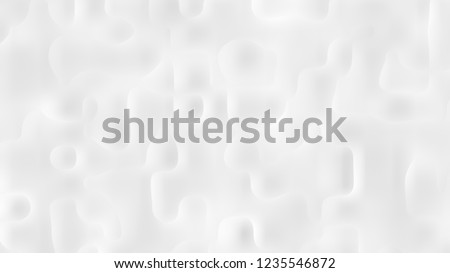 White cement and plaster wall texture background. modern interior design. #1235546872