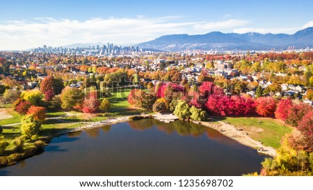 Fall in beautiful Vancouver #1235698702