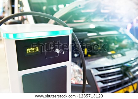 Electric charge station for cars and buses #1235713120