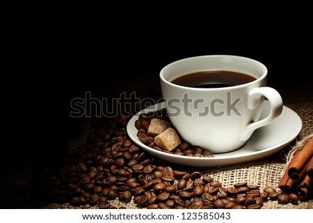 cup of coffee #123585043