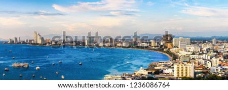 Pattaya Bay in Thailand #1236086764