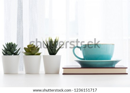 coffee and cactus on the books #1236151717