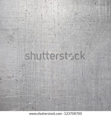 Scratched metal texture