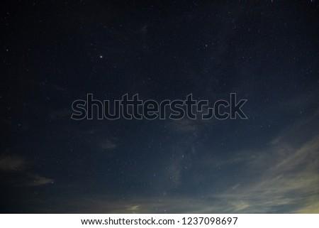 Sky floor at night #1237098697