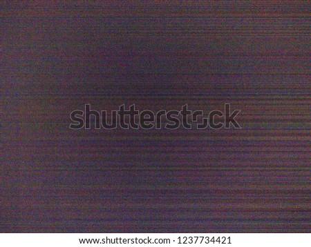 Cellphone digital camera sensor color and luma noise with horizo
