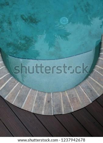 Poolside deck backgrounds #1237942678