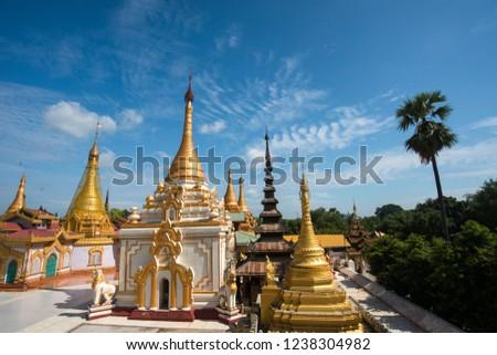 Si Thu Shin Pagoda at Ancient City of Pa Khan Gyi,Magway, Myanmar. #1238304982
