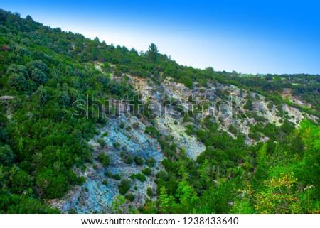 olympus mountain panorama #1238433640
