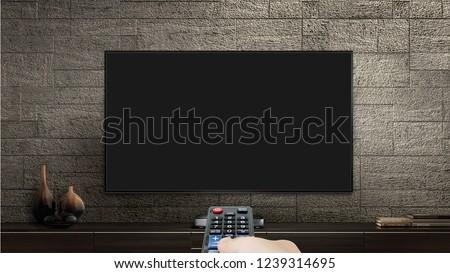 Television Mock Up  #1239314695