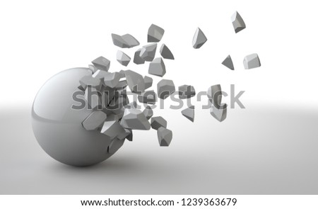 Dynamic 3d blank white background #1239363679