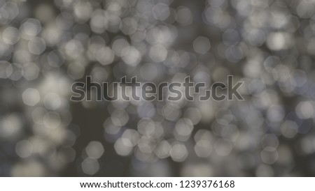 2d illustration of christmas bokeh on dark background. abstract texture. Defocused dots background. Blurred bright light. Circular points. Christmas eve time. Colorful circle shapes. #1239376168