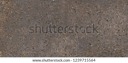 Matt brown marble texture background for ceramic tiles, Terrazzo polished stone floor and wall pattern and color surface marble and granite stone, material for decoration background texture. #1239715564