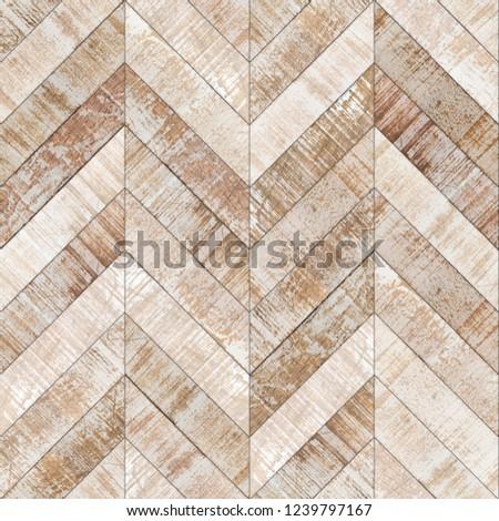 Parquet chevron bleached oak seamless floor texture