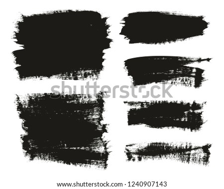 Calligraphy Paint Brush Background Mix High Detail Abstract Vector Background Set 47 #1240907143