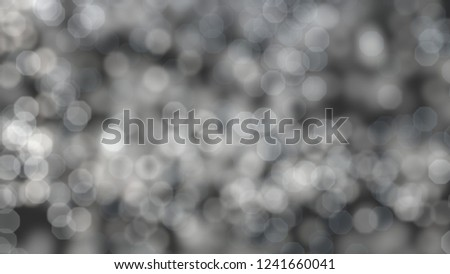 2d illustration of christmas bokeh on dark background. abstract texture. Defocused scattered dots background. Blurred bright light. Circular points. Christmas eve time. Colorful circle shapes. #1241660041