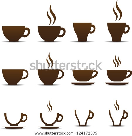 coffee cup vector #124172395