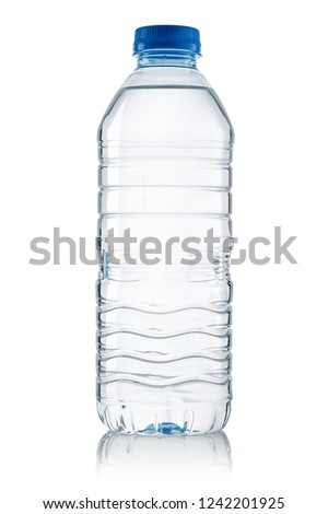 Water bottle isolated on white background #1242201925