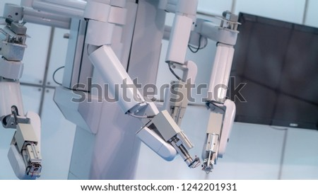 Industrial Robotic Arm Machine	 #1242201931