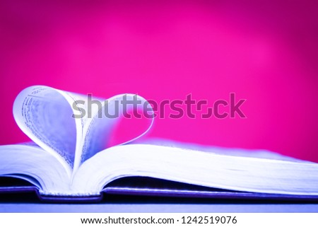 Bible and happy valentine's day in love #1242519076