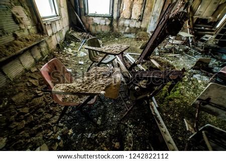 Abandoned School in America #1242822112