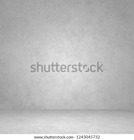 Designed grunge texture. Wall and floor interior background #1243045732