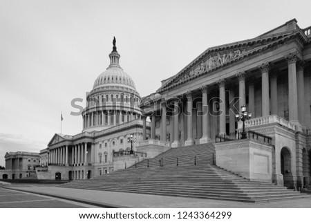 United States Capitol Building - Washington DC, United States of America #1243364299