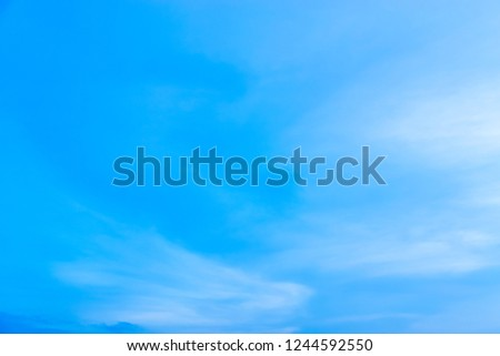 The sky is blue with clouds moving slowly. #1244592550