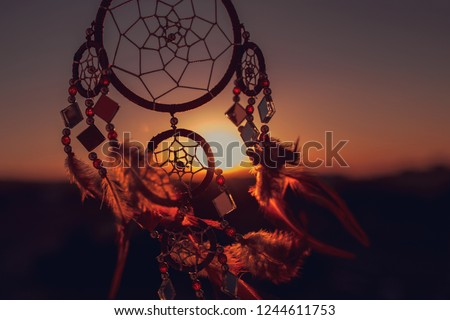 Dream catcher sunset ,