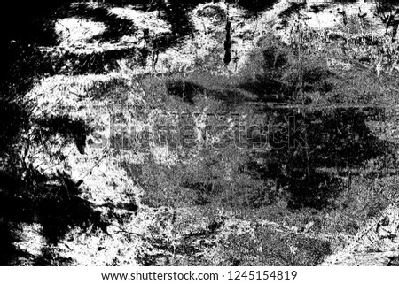 Abstract background. Monochrome texture. Image includes a effect the black and white tones. #1245154819