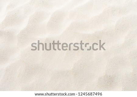 Sand on the beach full flame as background #1245687496
