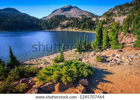 Lake Helen, Lassen Volcanic National Park, California #1245707464